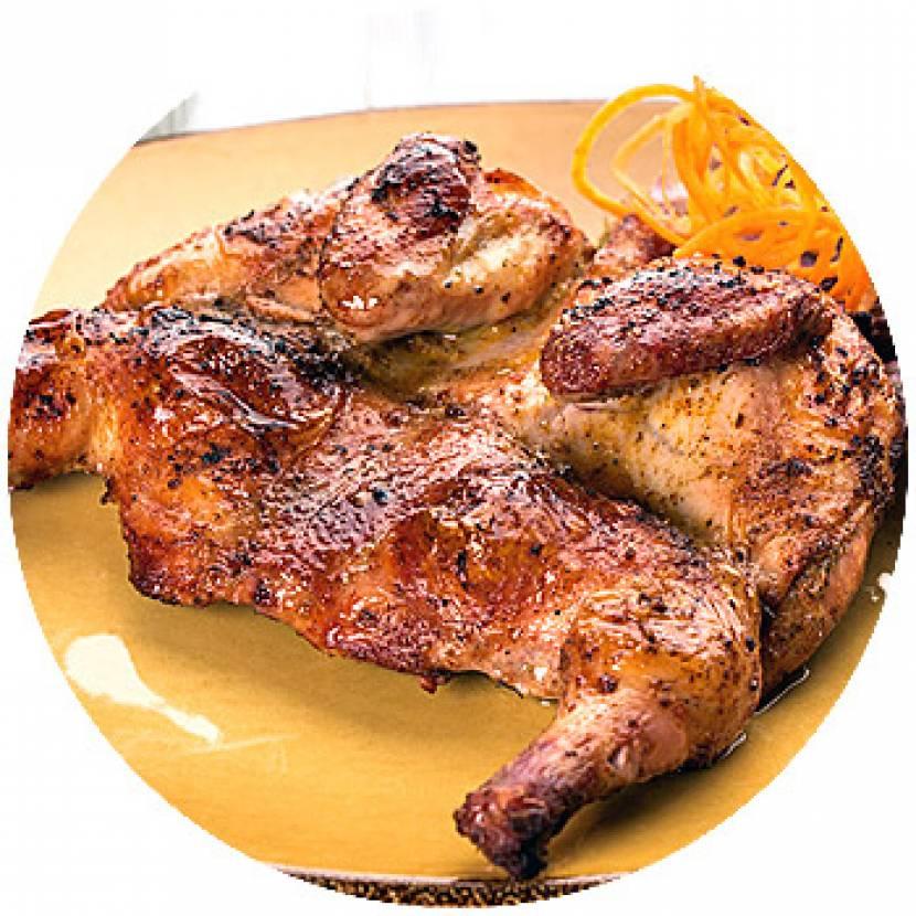 Курица гриль в духовкеы с фото на подставке
